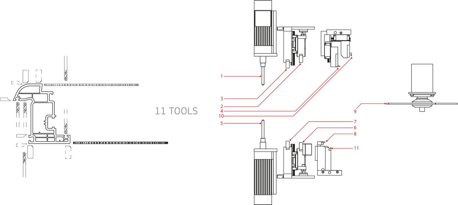 Masina de debavurat cu CNC11