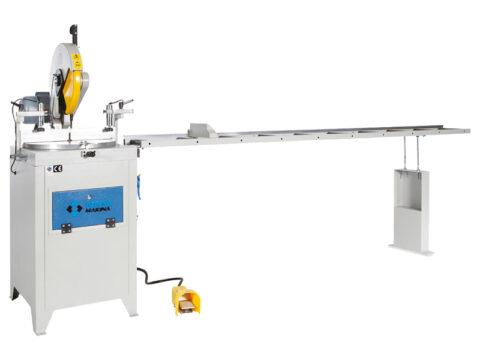 OMRM-115 Masina de debitat profile aluminiu si PVC manuala - foto 01 - export