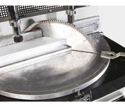 OMRM-125 Masina automata de debitat profile PVC si aluminiu - foto 03 - export