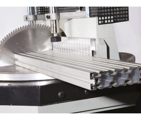 OMRM-125 Masina automata de debitat profile PVC si aluminiu - foto 04 - export