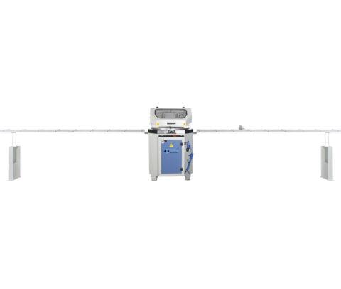 OMRM-125 Masina automata de debitat profile PVC si aluminiu - foto 05 - export
