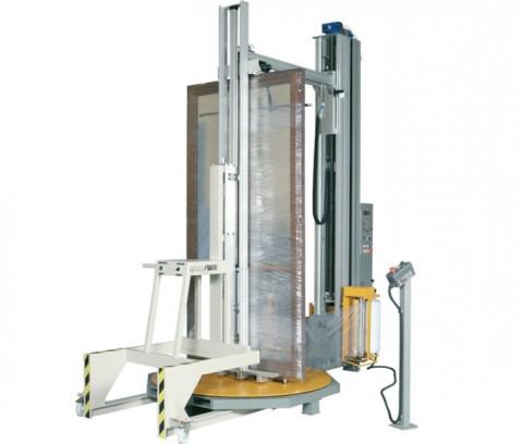 masina de ambalat ferestre si usi tamplarie pvc & aluminiu