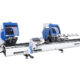 OMRM-133 PRO Masina de debitat aluminiu la 2 capete lame 600 - foto02