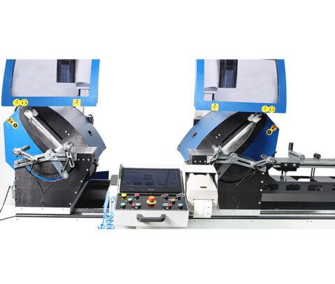OMRM-133 PRO Masina de debitat aluminiu la 2 capete lame 600 - foto03