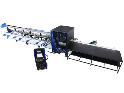 TURBOCUT-400 Centru cu CNC pentru prelucrat profile - foto01